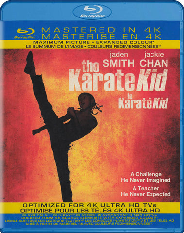 The Karate Kid (Mastered in 4K) (Blu-ray) (Bilingual) BLU-RAY Movie