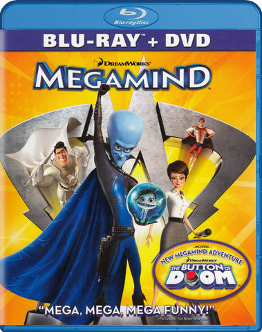 Megamind (Blu-ray + DVD) (Blu-ray) BLU-RAY Movie