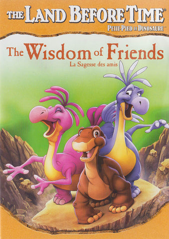 The Land Before Time - The Wisdom of Friends (Bilingual) DVD Movie