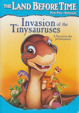 The Land Before Time - Invasion of the Tinysauruses (Bilingual) DVD Movie