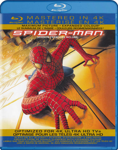Spider-Man (Mastered in 4K) (Bilingual) (Blu-ray) BLU-RAY Movie
