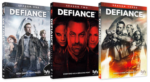 Defiance (The Complete Series) (Seasons 1-3) (Boxset) DVD Movie