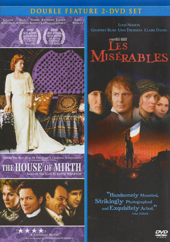 House of Mirth & Les Miserables (Double Feature) DVD Movie