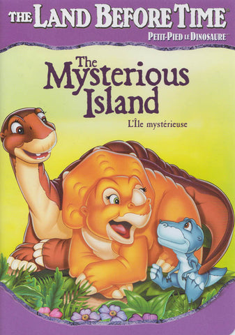 The Land Before Time - The Mysterious Island (Purple Spine) (Bilingual) DVD Movie