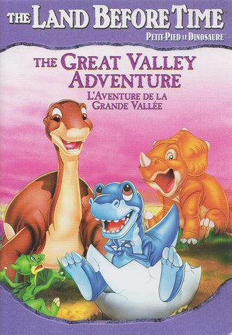 The Land Before Time - The Great Valley Adventure (Volume 2) (Purple Spine) (Bilingual) DVD Movie