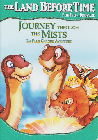 The Land Before Time - Journey Through the Mists (Green Cover) (Bilingual) DVD Movie