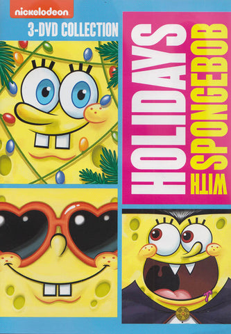 Spongebob : Squarepants - Holidays With Spongebob DVD Movie