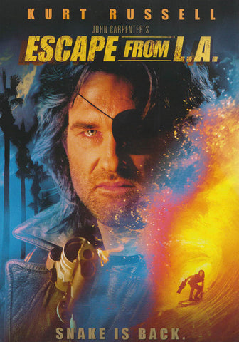 Escape from L.A. (1996) DVD Movie