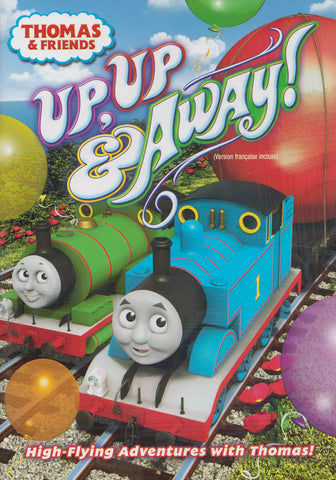 Thomas & Friends: Up, Up & Away (Bilingual) DVD Movie