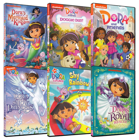 Dora the Explorer 6-Pack Collection #3 (Boxset) DVD Movie
