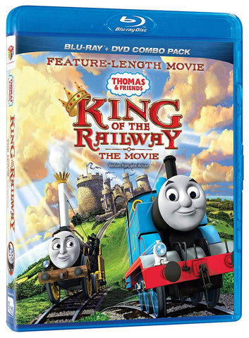 Thomas And Friends: King Of The Railway - The Movie (Blu-ray + DVD) (Blu-ray) (Bilingual) BLU-RAY Movie