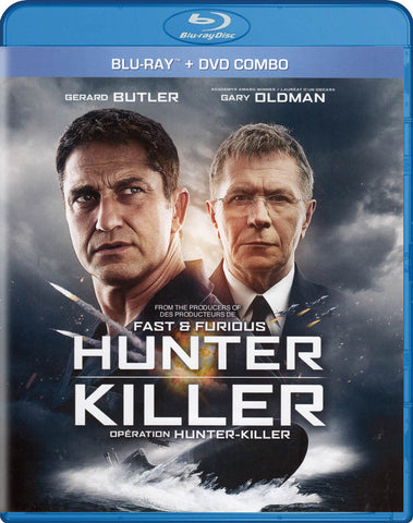 Hunter Killer (Blu-ray + DVD Combo) (Blu-ray) (Bilingual) BLU-RAY Movie