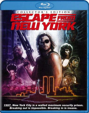 Escape From New York (Collector s Edition) (Blu-ray) BLU-RAY Movie