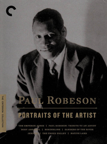 Paul Robeson : Portraits Of The Artist (The Criterion Collection) (Boxset) DVD Movie