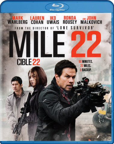 Mile 22 (Blu-ray) (Bilingual) BLU-RAY Movie