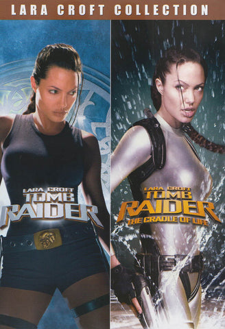 Lara Croft Collection (Lara Croft : Tomb Raider / Lara Croft - Tomb Raider : The Cradle of Life) DVD Movie