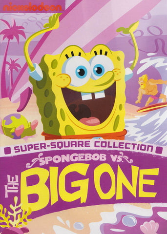 SpongeBob SquarePants : SpongeBob VS The Big One DVD Movie