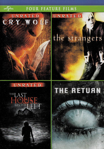 Cry Wolf / The Strangers / The Last House On The Left / The Return (Four Feature Films) DVD Movie