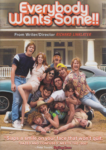 Everybody Wants Some DVD Movie