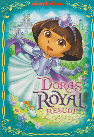 Dora The Explorer: Dora's Royal Rescue DVD Movie