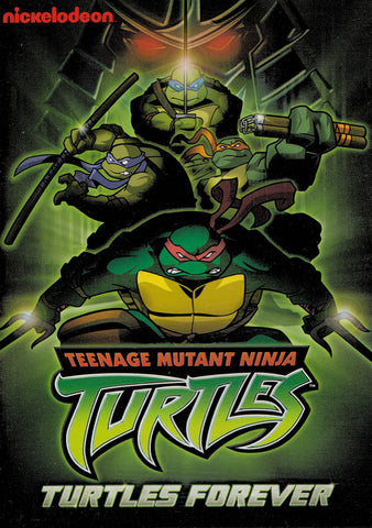 Teenage Mutant Ninja Turtles: Turtles Forever DVD Movie