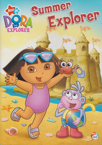 Dora The Explorer : Summer Explorer DVD Movie