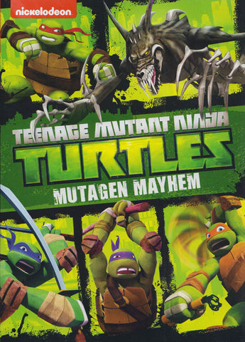 Teenage Mutant Ninja Turtles : Mutagen Mayhem DVD Movie