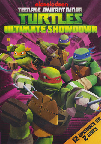Teenage Mutant Ninja Turtles : Ultimate Showdown DVD Movie