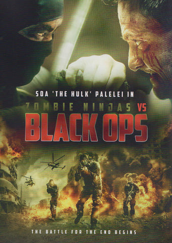 Zombie Ninjas Vs Black Ops DVD Movie