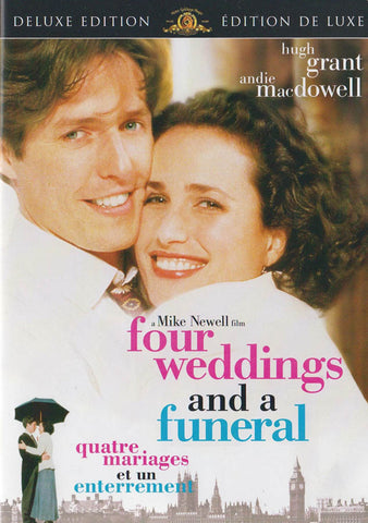 Four Weddings and a Funeral (Deluxe Edition) (MGM) (Bilingual) DVD Movie