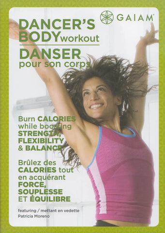 Dancers Body Workout (Patricia Moreno) (Bilingual) DVD Movie