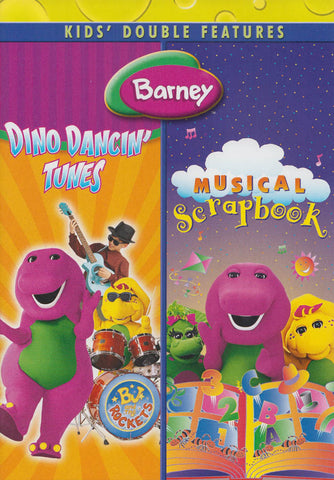 Barney (Dino Dancin Tunes / Musical Scrapbook) (Double Feature) (Universal) DVD Movie