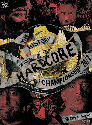 The History of the WWE Hardcore Championship: 24/7 (Boxset) DVD Movie