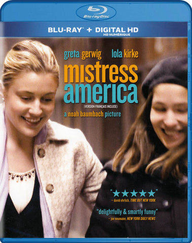 Mistress America (Blu-ray + Digital HD) (Bilingual) (Blu-ray) BLU-RAY Movie