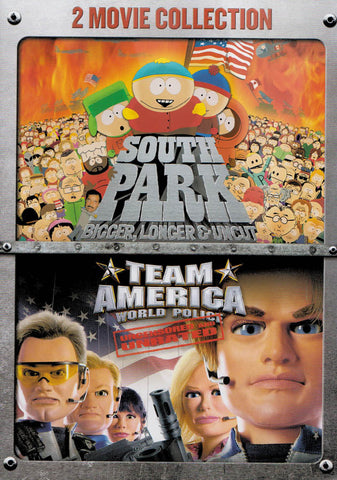 South Park: Bigger, Longer & Uncut / Team America: World Police (2-Movie Collection) DVD Movie