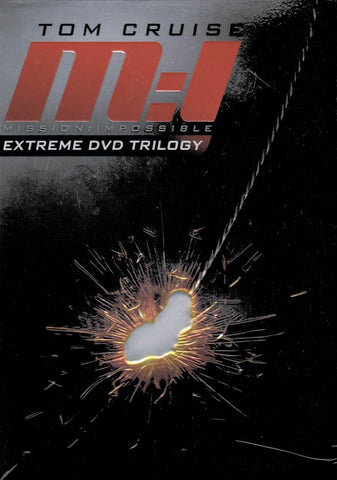 Mission: Impossible - Extreme DVD Trilogy (M:I / M:I-2 / M:I-3) (Boxset) DVD Movie