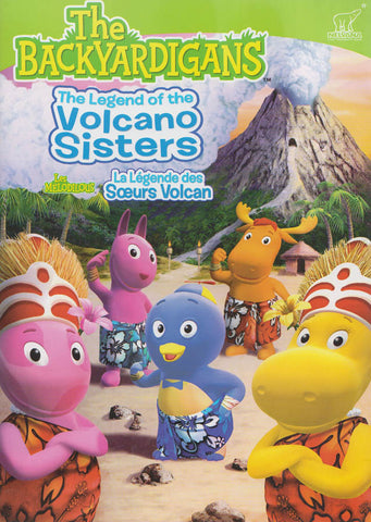 The Backyardigans: The Legend of the Volcano Sisters (Bilingual) DVD Movie