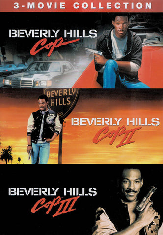 Beverly Hills Cop (3-Movie Collection) DVD Movie