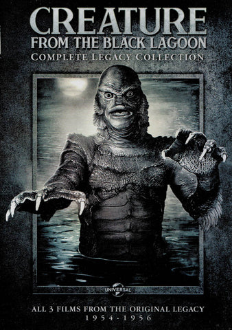 Creature From the Black Lagoon (Complete Legacy Collection) (1954-1956) DVD Movie