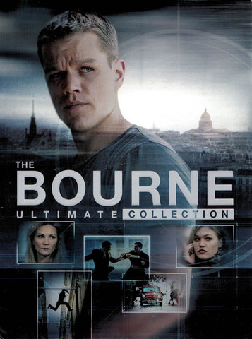 The Bourne Ultimate Collection (Identity / Supremacy / Ultimatum / Legacy / Jason Bourne) (Boxset) DVD Movie