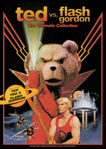 Ted vs. Flash Gordon: The Ultimate Collection (Ted / Ted 2 / Flash Gordon) DVD Movie