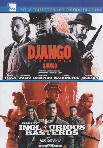 Django Unchained / Inglourious Basterds (Double Feature) DVD Movie