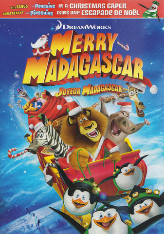 Merry Madagascar / Joyeux Madagascar (Bilingual) DVD Movie