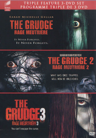 The Grudge / The Grudge 2 / The Grudge 3 (Bilingual) DVD Movie