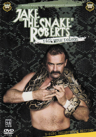Jake The Snake Roberts - Pick Your Poison (WWE Legends) (Boxset) DVD Movie