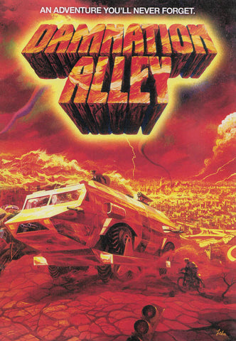 Damnation Alley DVD Movie