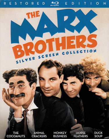 The Marx Brothers Silver Screen Collection (Boxset) (Blu-ray) BLU-RAY Movie