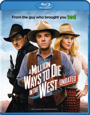 A Million Ways to Die in the West (Blu-ray) BLU-RAY Movie