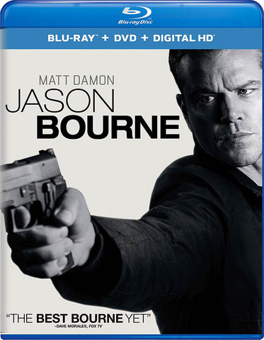 Jason Bourne (Blu-ray + DVD + Digital HD) (Blu-ray) BLU-RAY Movie