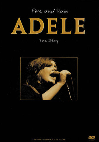Adele - Fire And Rain: The Story Unauthorized Documentary DVD Movie